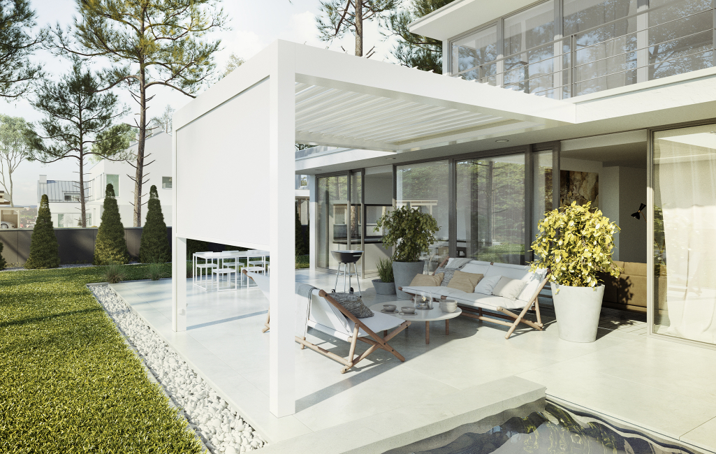 POSITION THE LOUVRES FOR SHADEOR SUN