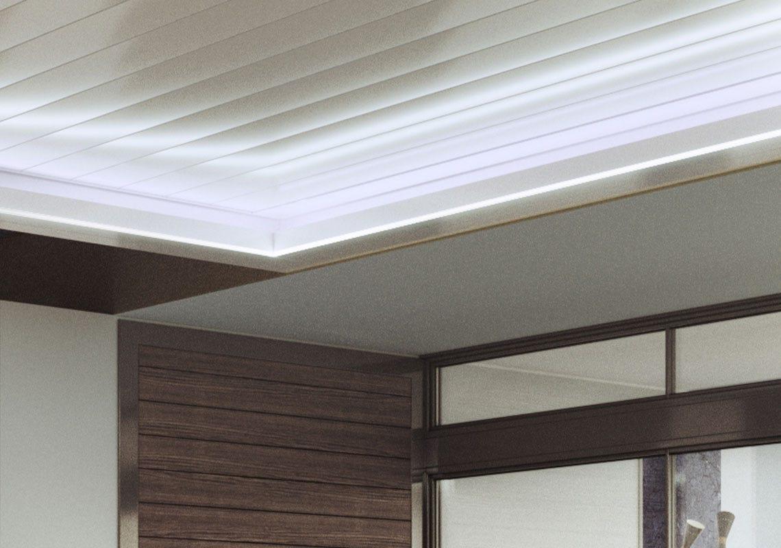 Indirect RGB LED<br>strip light 